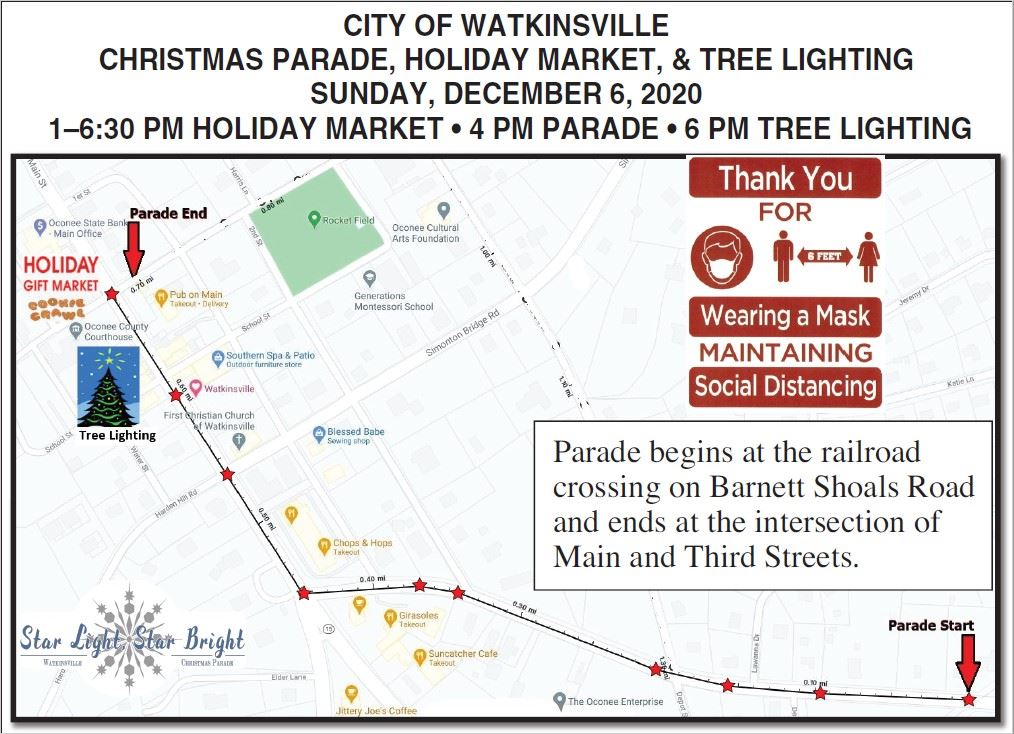 FINAL Parade Route and Festivity Map_2020